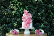 Floral τουρτα γαμου
