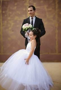 Ανθοδεσμη γαμου με ροζ παιωνιες