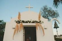 Στολισμος εκκλησιας με γηινες αποχρωσεις