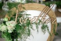 Πινακιδα για την καρεκλα γαμου