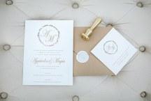 Προσκλητηρια γαμου με μοντερνα γραμματοσειρα