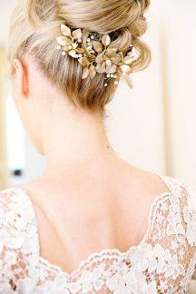 Χτενακι μαλλιων για τη νυφη