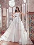 Εντυπωσιακο νυφικο φορεμα