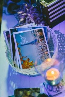 Ευχες καλεσμενων σε postcards