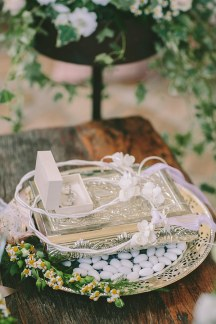 Λευκα στεφανα γαμου