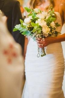 Ανθοδεσμη νυφης για rustic γαμο