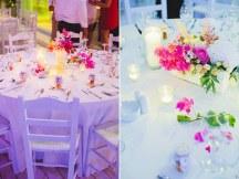Ροζ λουλουδια γαμου