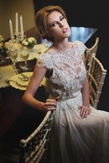 Μακιγιαζ για elegant γαμο