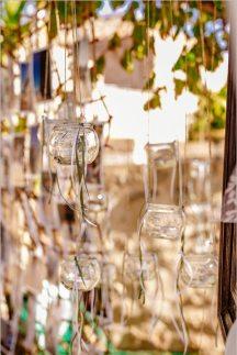 Διακοσμηση για rustic γαμο