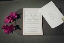 Minimal chic προσκλητηρια γαμου