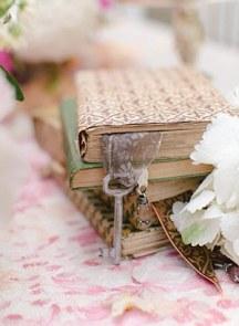 Ιδεες για διακοσμηση γαμου με βιβλια