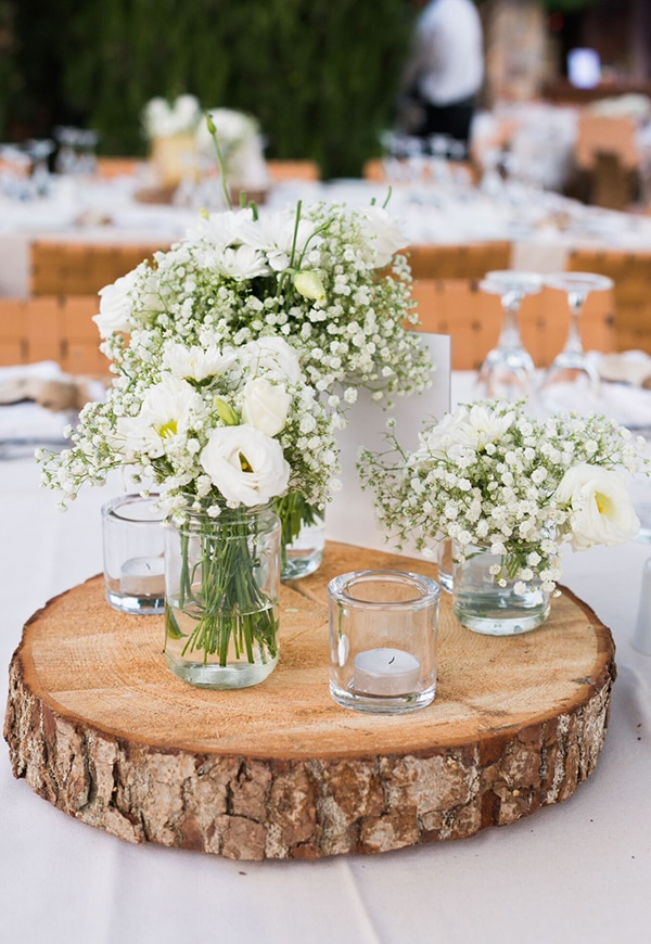 Rustic Centerpiece Love4weddings