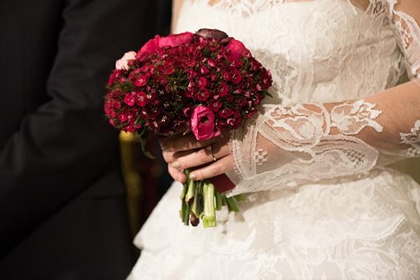 Νυφικη ανθοδεσμη για χειωνιατικο γαμο