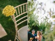 Διακοσμηση καρεκλας γαμου