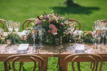 Rustic glam wedding-decorations