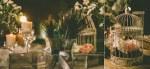Στολισμος γαμου με φτερα παγωνιου
