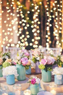 Διακοσμηση γαμου με παστελ χρωματα
