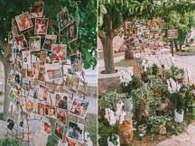 Στολισμος με φωτογραφιες του ζευγαριου