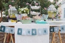 Dessert table καλοκαιρινου γαμου