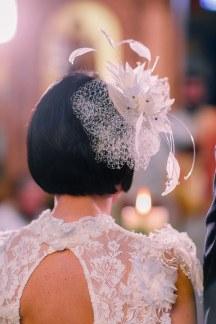 Πρωτοτυπο αξεσουρ για τα μαλλια της νυφης