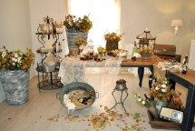 Vintage φθινοπωρινη διακοσμηση γαμου