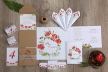 Watercolors προσκλητηρια γαμου