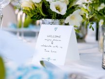 Wedding seating card