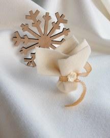 Μπομπονιερα για Χειμωνιατικο γαμο