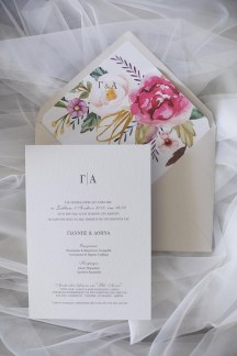 Προσκλητηριο γαμου ιδανικο για ανοιξιατικους και καλοκαιρινους γαμους