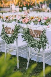 Πανεμορφος στολισμος με κλαδια και φυλλα ελιας
