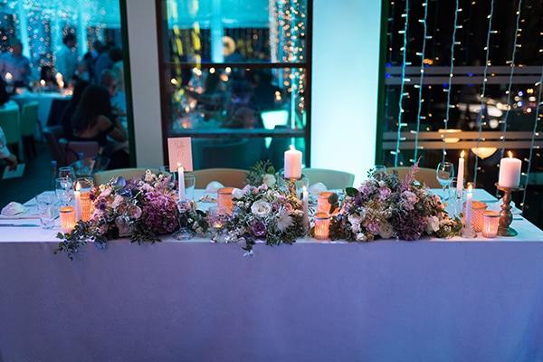 Στολισμος δεξιωσης γαμου με ρομαντικο, chic, rustic στυλ