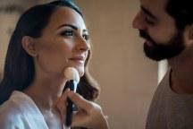 Ομορφο νυφικο μακιγιαζ για μελαχροινες νυφες