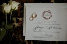 Ομορφα προσκλητηρια γαμου με Χριστουγεννιατικο σχεδιο