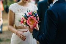 Ανθοδεσμη νυφης για ρουστικ γαμο