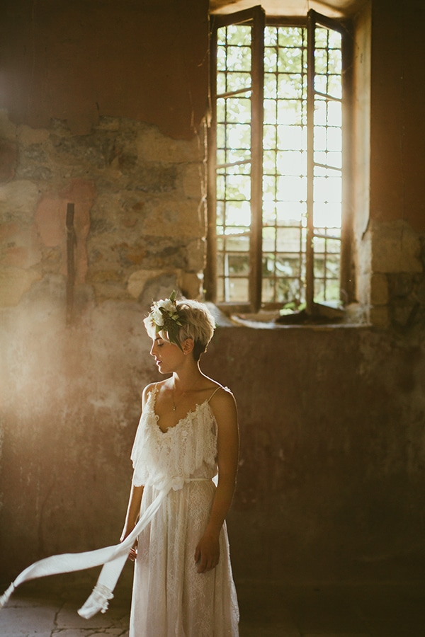 Nella Ioannou νυφικο φορεμα