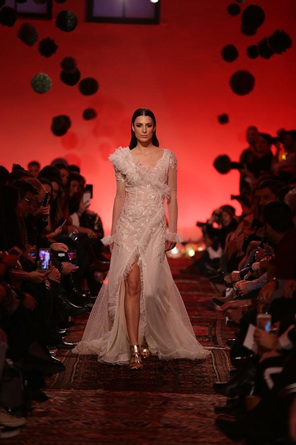 Παραμυθενιο Mairi Mparola νυφικο φορεμα