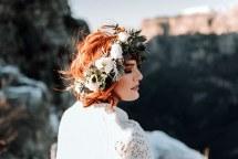 Στεφανακι για τα μαλλια νυφης