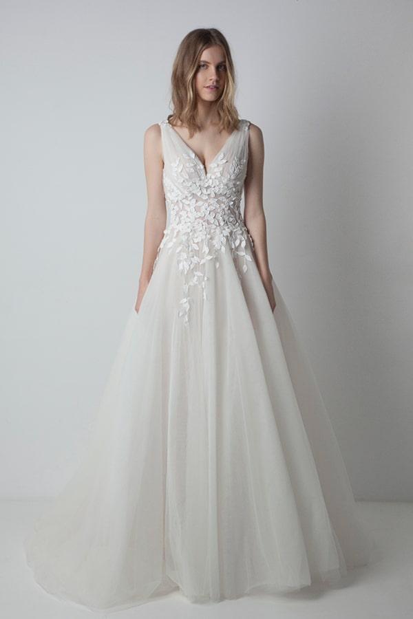 Eleni Kollarou νυφικο φορεμα