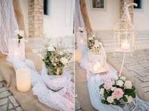 Ρομαντικος vintage στολισμος εκκλησιας