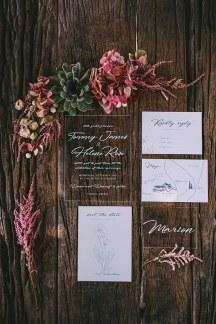Acrylic προσκλητηρια γαμου