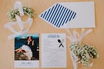 Simple chic προσκλητηριο γαμου