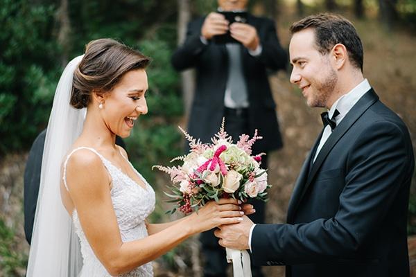 ce71566b332e Ομορφος φθινοπωρινος γαμος με ρομαντικα χρωματα
