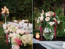 Στολισμος δεξιωσης με ρομαντικα χρωματα