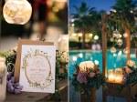 Προσκλητηριο γαμου με λουλουδια