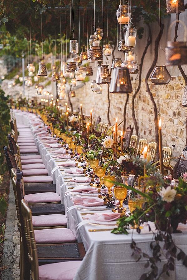 Winery styled διακοσμηση δεξιωσης