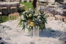 Στολισμος δεξιωσης για ρομαντικο γαμο