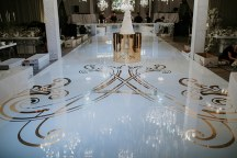 Luxurious dance floor