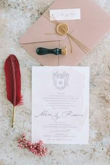 Προσκλητηρια γαμου με βουλοκερι