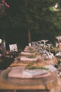 Διακοσμηση δεξιωσης για ενα ρομαντικο γαμο