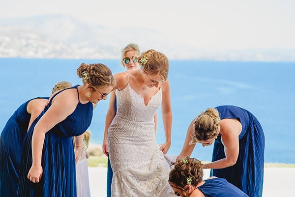 natural rustic wedding Greece-12